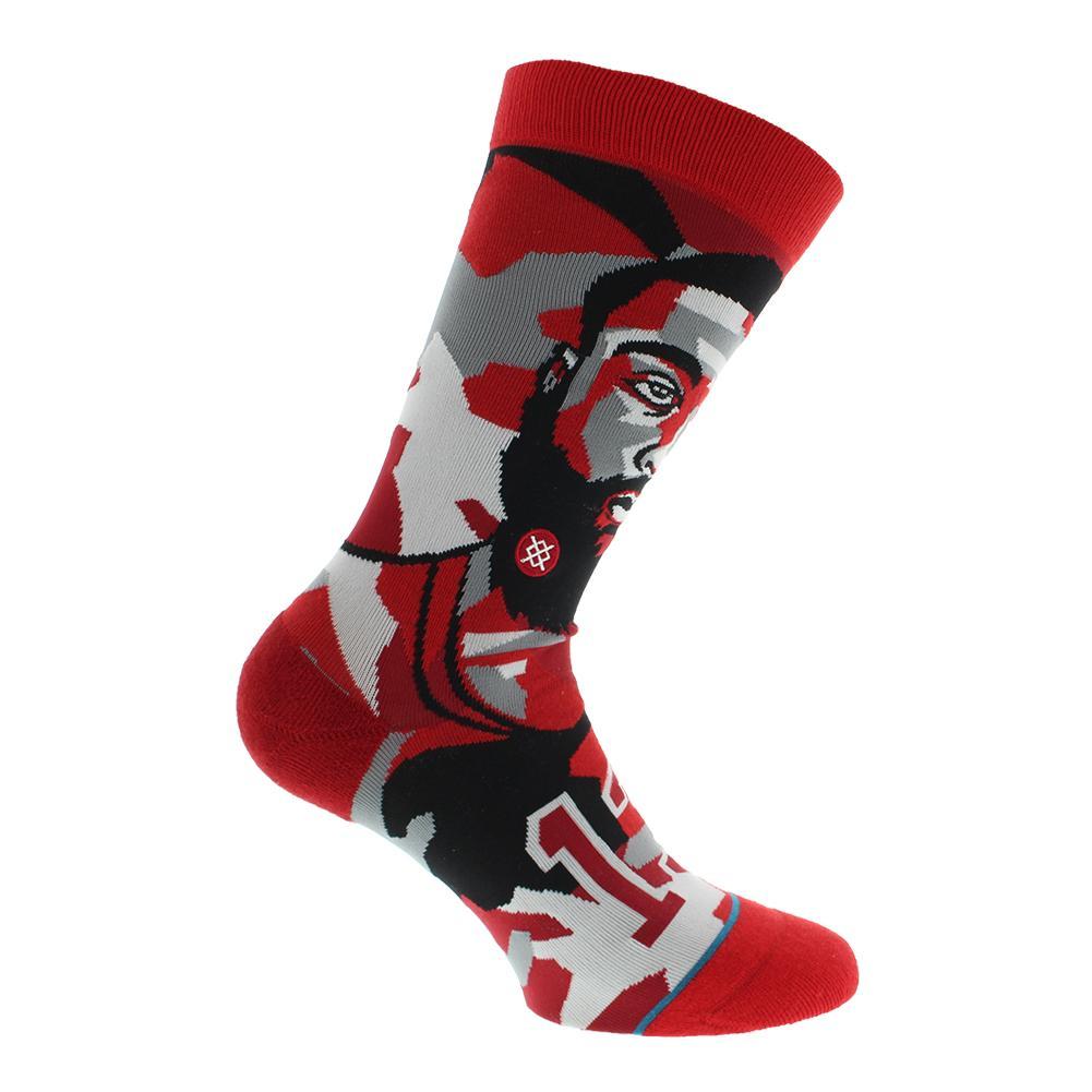 Men's Mosaic Harden Socks Red
