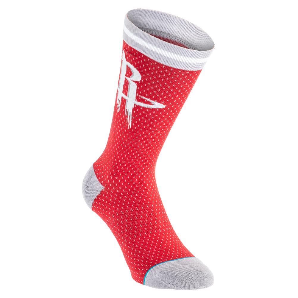 Men's Rockets Jersey Socks Red