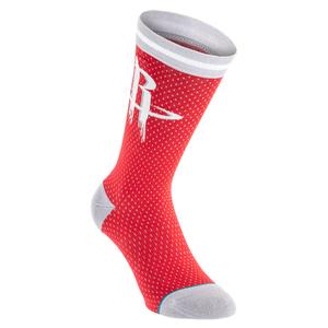 Men`s Rockets Jersey Socks Red