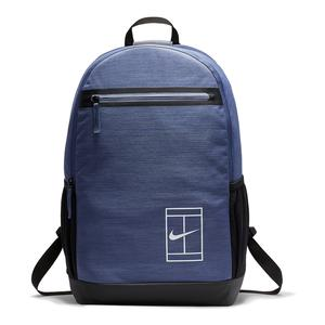 Court Tennis Backpack Blue Recall and Black