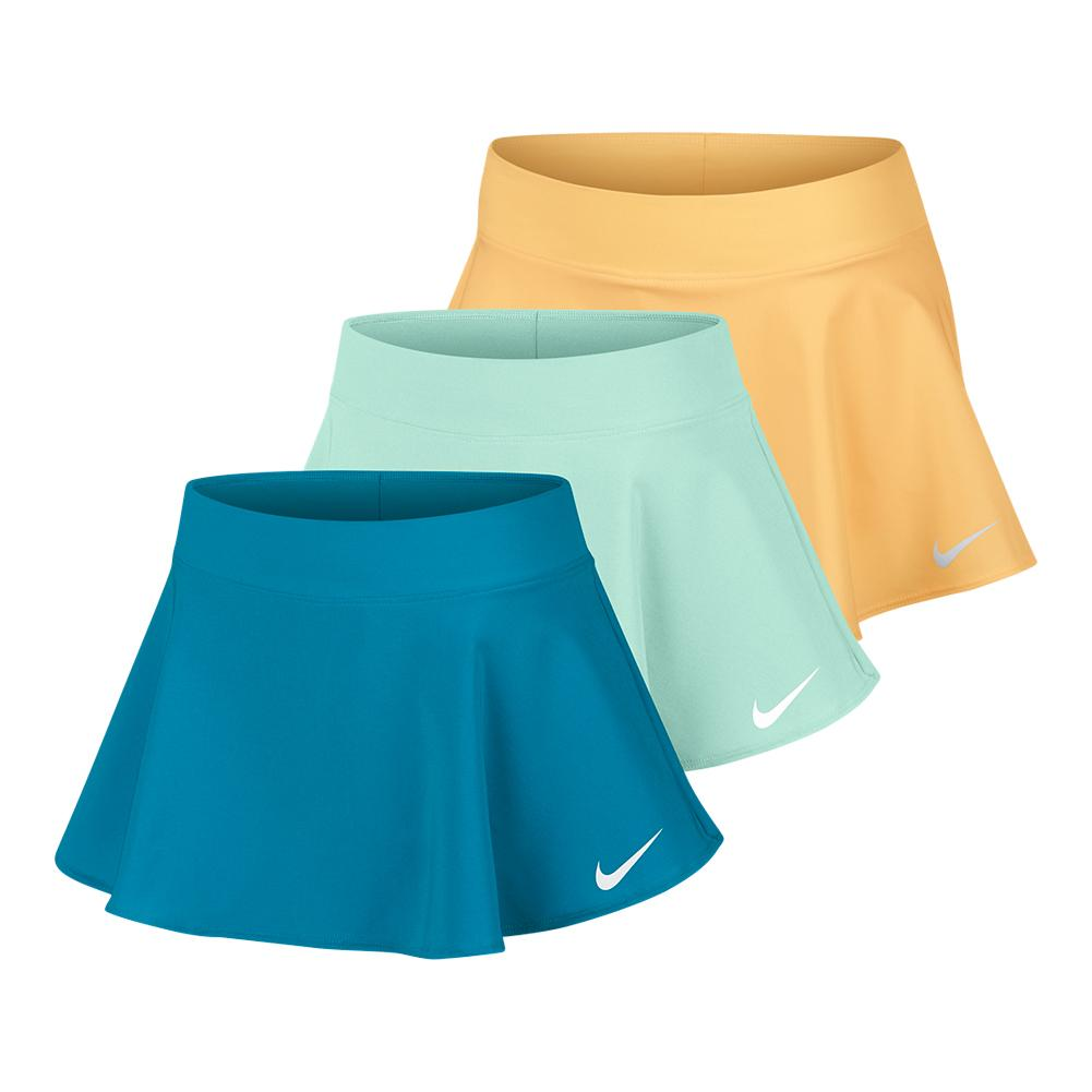 Girls ` Court Pure Flouncy Tennis Skort