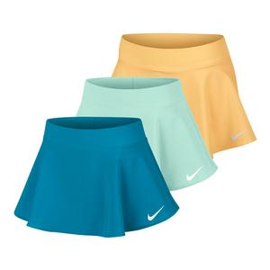 Girls` Court Pure Flouncy Tennis Skort
