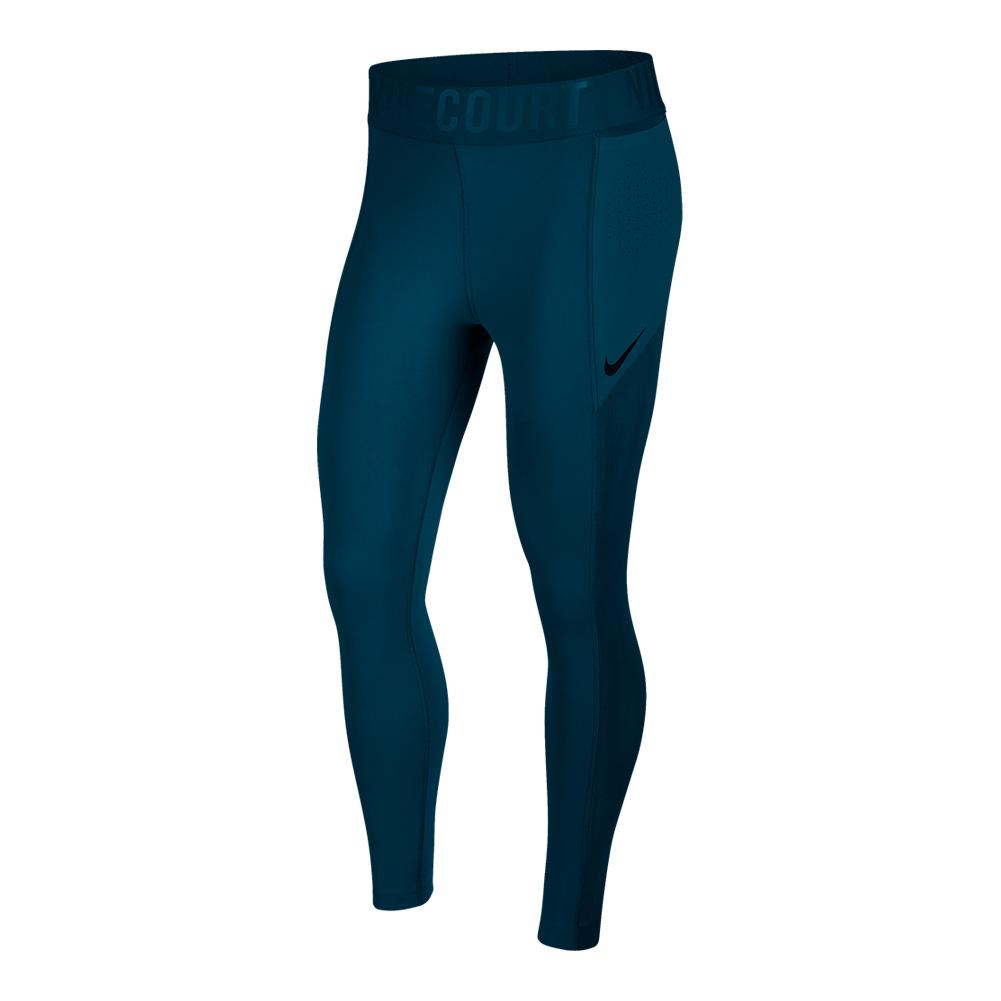 Women's Court Power Tennis Tights Blue Force