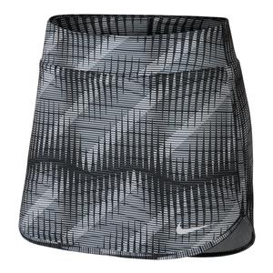 Women`s Court Pure Tennis Skort Black and White