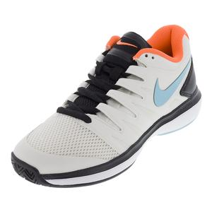Men`s Air Zoom Prestige Tennis Shoes Phantom and Bleached Aqua