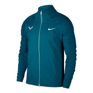 Men`s Rafa Court Tennis Jacket Green Abyss