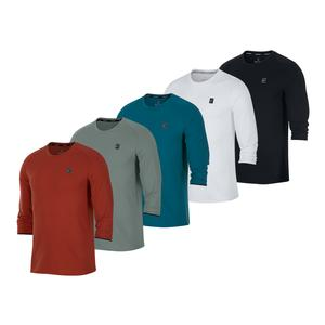 Men`s Court Dry Challenger 3/4 Sleeve Tennis Top