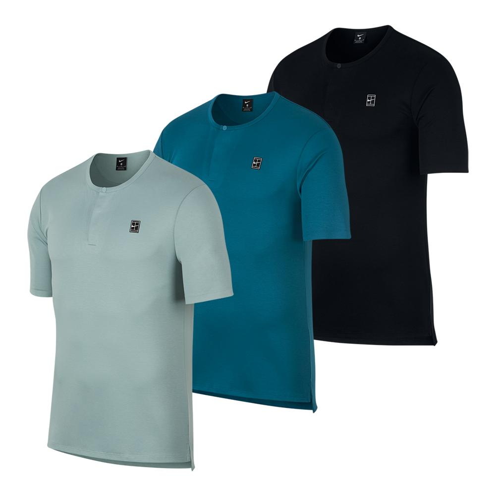 Men's Court Short Sleeve Tennis Henley