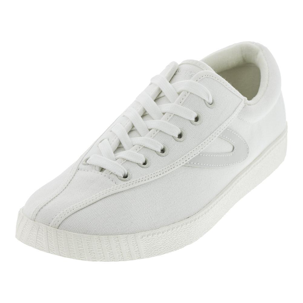 Men's Nylite Plus Canvas White Tennis Shoes