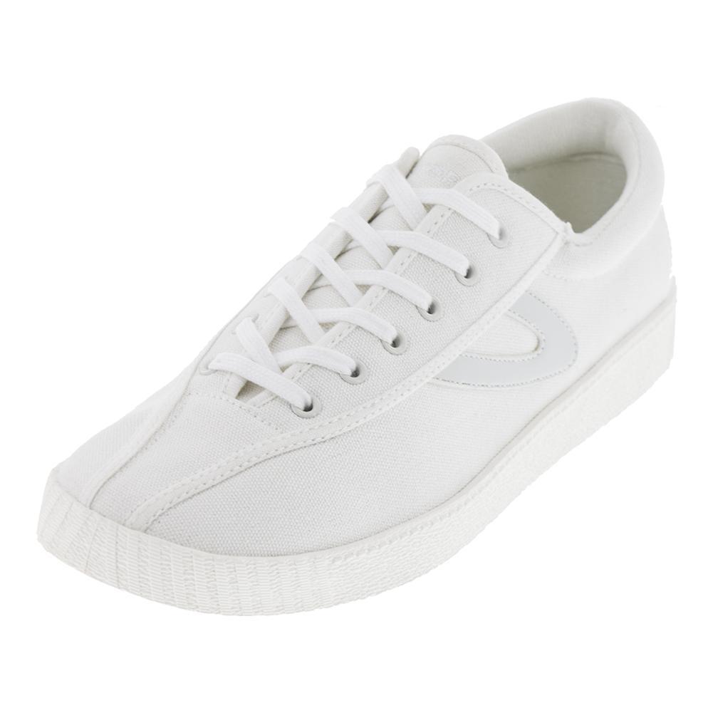 Women's Nylite Plus Canvas White Tennis Shoes