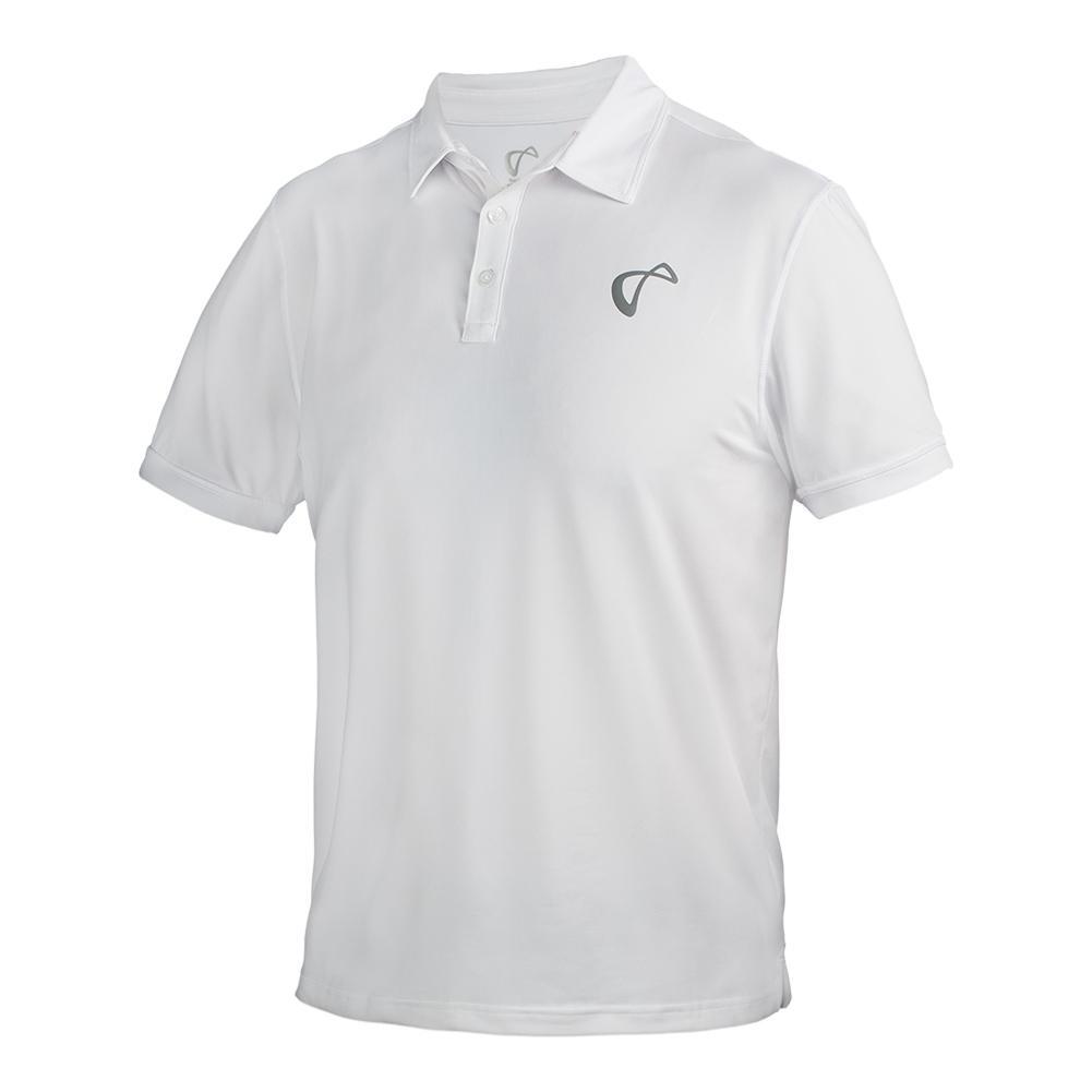 Men's Tennis Polo White