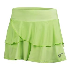 Girls` Tennis Skort Paradise Green