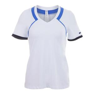 Women`s Wende Tennis Tee White