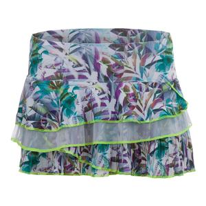 Women`s Rhumba Pleated Rally Tennis Skort Print