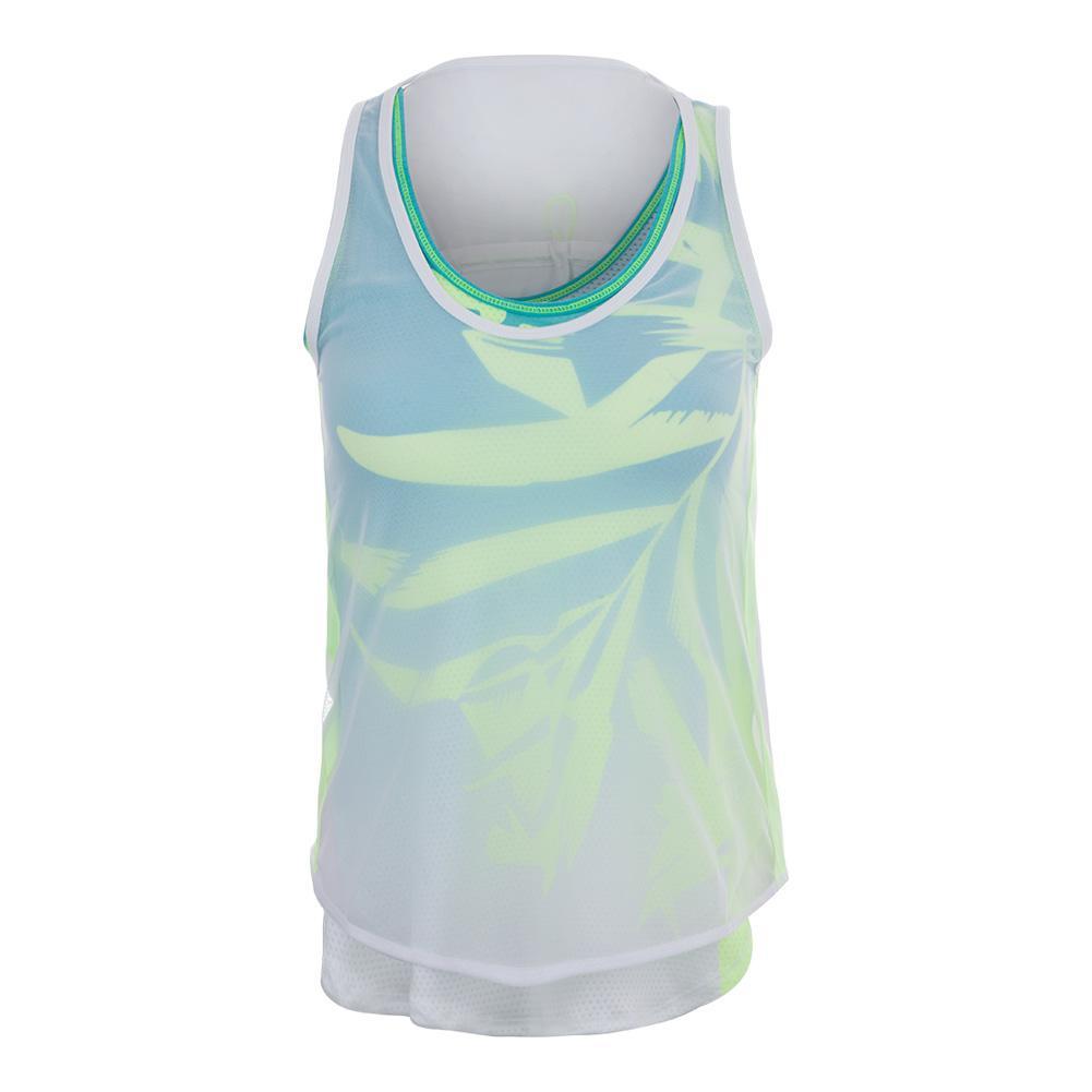 Women's Maikai Mesh Layer Tennis Tank White