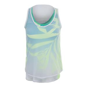 Women`s Maikai Mesh Layer Tennis Tank White