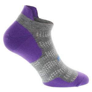 High Performance Ultra Light No Show Tab Tennis Socks Viola