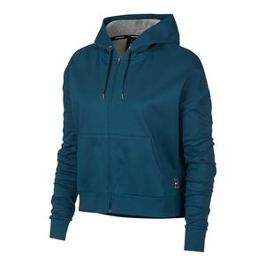 Women`s Court Tennis Hoodie Blue Force