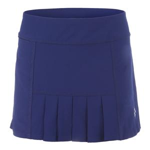 Women`s 13 Inch Dash Tennis Skort Blue Depth