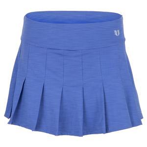 Women`s Flutter 13 Inch Tennis Skort Baja Blue