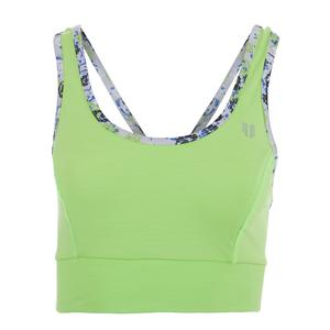 Women`s Power Play Sports Bra Sharp Green