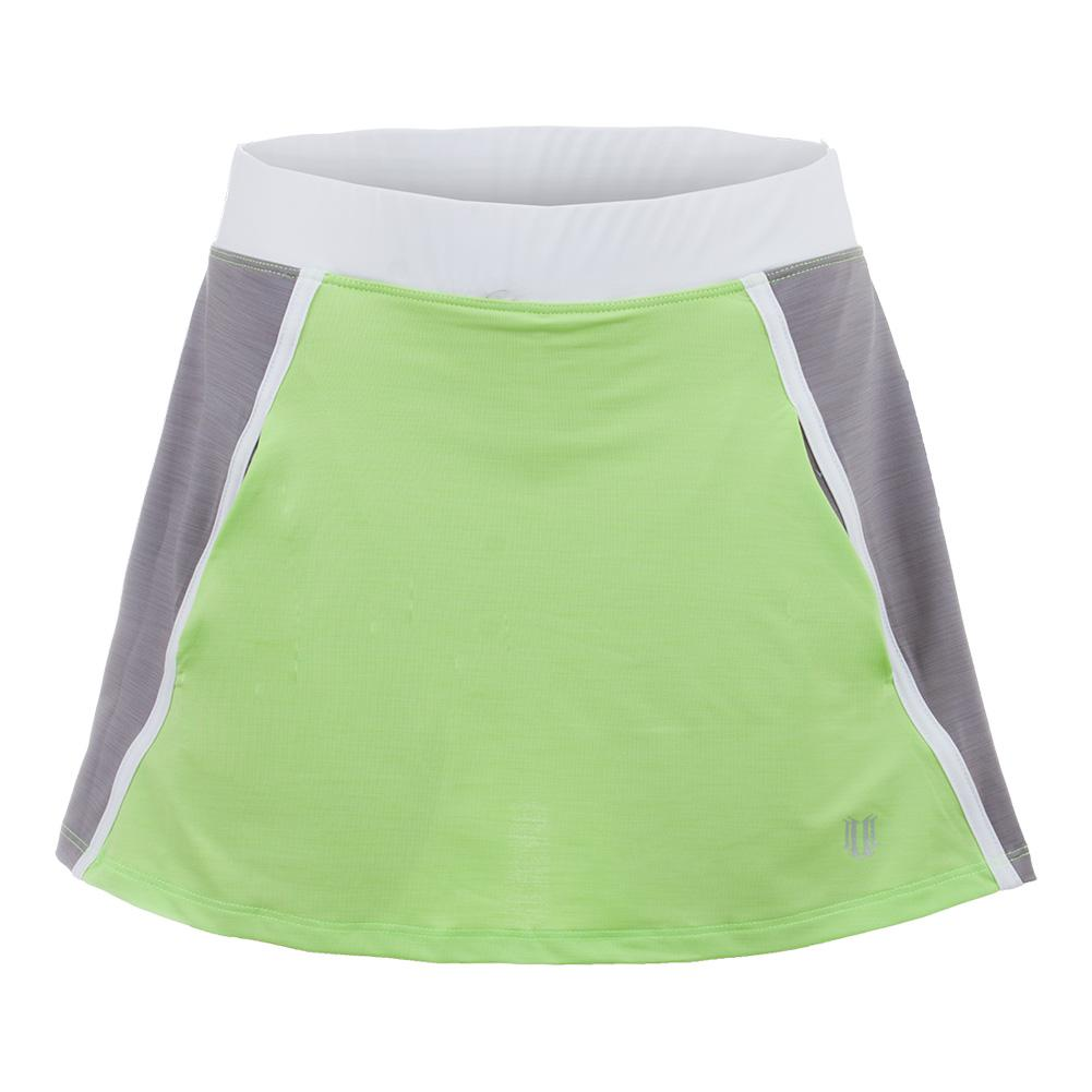 Women's Verge 13 Inch Tennis Skort Sharp Green