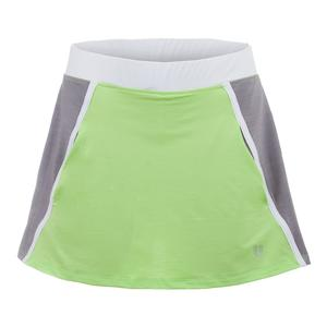 Women`s Verge 13 Inch Tennis Skort Sharp Green
