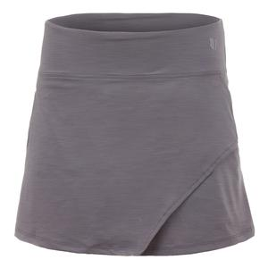 Women`s Fly 14 Inch Tennis Skort Frost Gray
