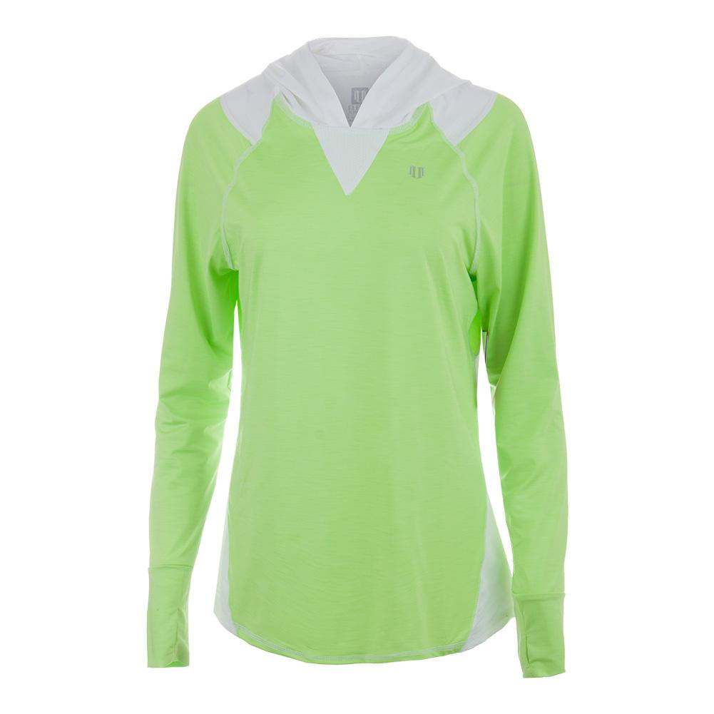 Women's Stardom Tennis Hoodie Sharp Green