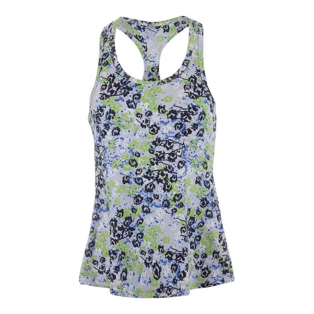 Women's Race Day Tennis Tank Hari Print