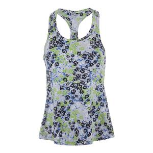 Women`s Race Day Tennis Tank Hari Print