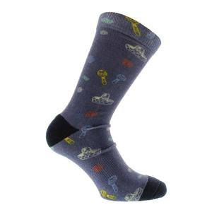 Men`s Ptak Tennis Socks Grisaille