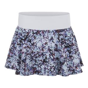 Women`s Highline Tennis Skort Monet Print and White