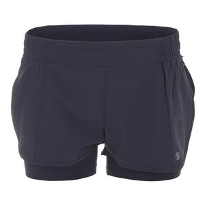 Women`s Metro Tennis Short Slate Gray