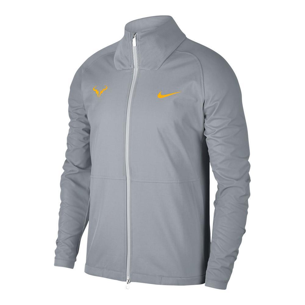 Men's Rafa Court Tennis Jacket Wolf Gray