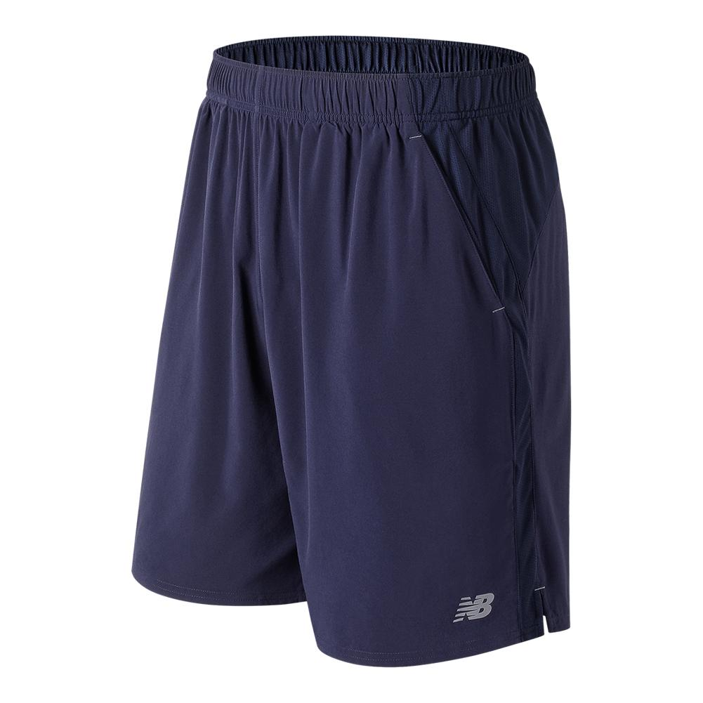 Men's 9 Inch Rally Tennis Short Petrol