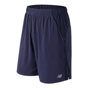 Men`s 9 Inch Rally Tennis Short Petrol