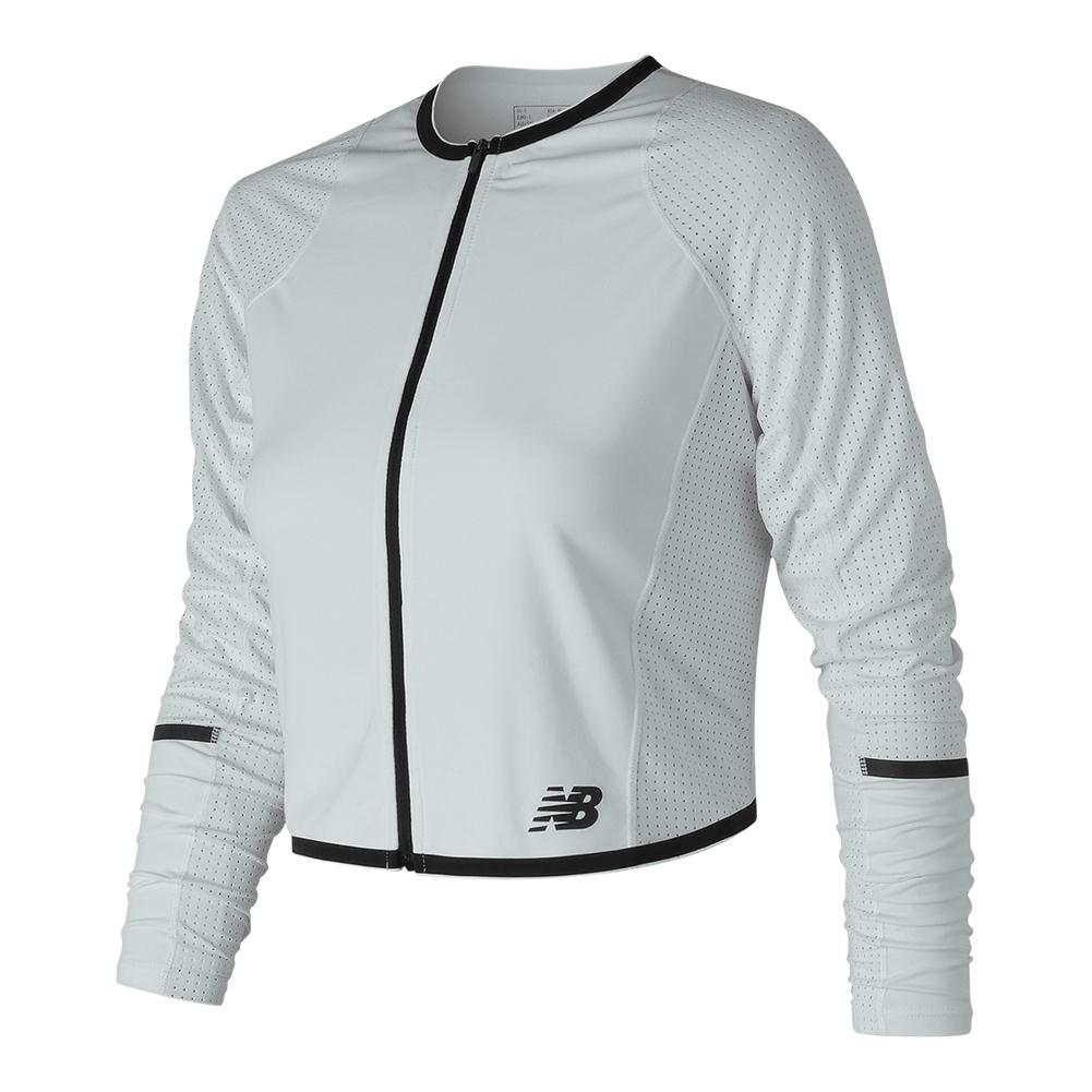 Women's Q Speed Tennis Jacket White