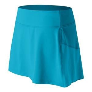 Women`s Rally Tennis Skort Maldives Blue