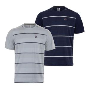 Men`s Legend Space Dye Stripe Tennis Crew