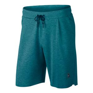 Men`s Court Tennis Short Green Abyss