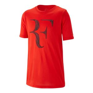 Boys` Court Dry Legend Roger Federer Tennis Tee