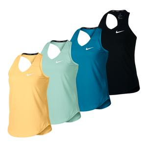Girls` Court Pure Tennis Tank