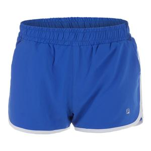 Women`s Woven Practice Short Amparo Blue and White
