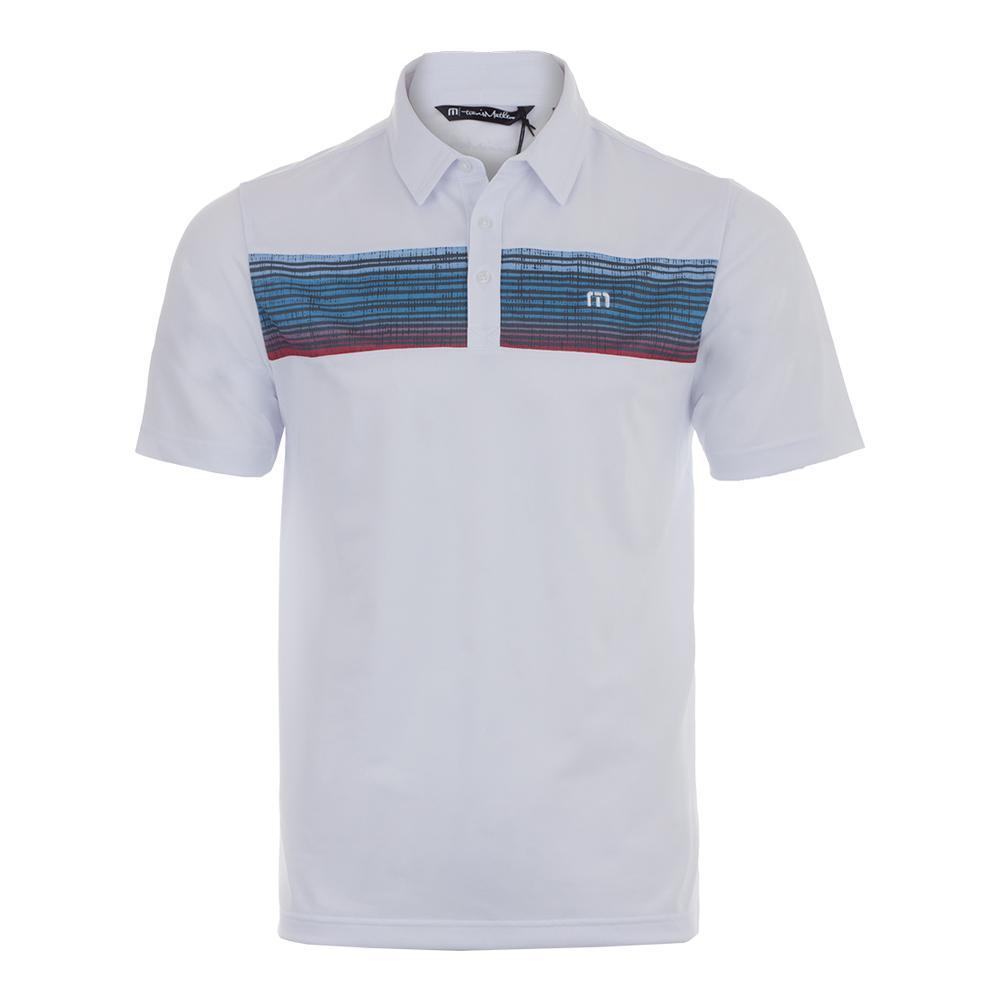 Men's Three Jack Tennis Polo White