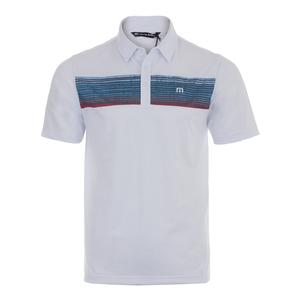Men`s Three Jack Tennis Polo White