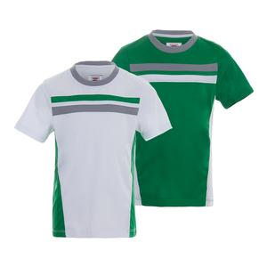 Boys` On the Line Colorblocked Tennis Crew