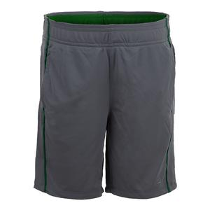 Boys` Piped Tennis Short Monument and Jolly Green