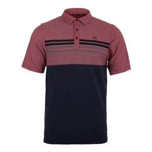Men`s Boomer Tennis Polo Heather American Beauty