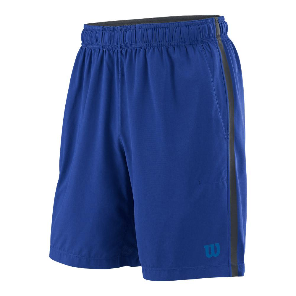 Men's Urban Wolf 2 Woven 8 Inch Tennis Short Mazarine Blue